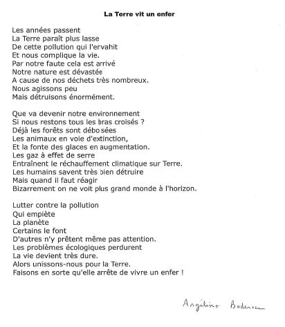 Concours De Poésie Collège Jean Bosco